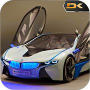 I8 Super Car: Crazy City Drift, Drive and Stunts